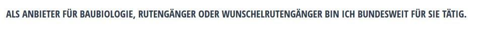 Bundesweite Feng-Shui & Baubiologische Untersuchungen für  Schwülper