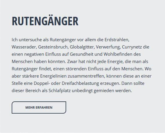 Wünschelrutengänger aus 30916 Isernhagen